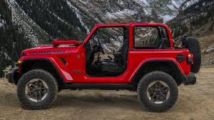 jeep wrangler top view 2018 jeep wrangler see the changes side by side