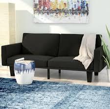 mercury row clements convertible sofa u0026 reviews wayfair