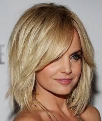 Frisuren Mittellange Haar Stufig by Stufig Geschnittene Haare Mittellang Modesonne