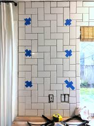 How To Install A Backsplash In The Kitchen How To Install Basic Open Kitchen Shelves Over Tile A Tile