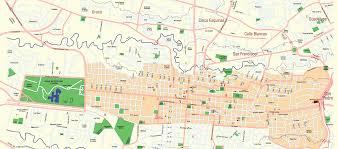 California San Jose Map by