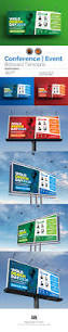 conference event billboard template billboard signage and