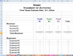 Treasurer Spreadsheet Free Spreadsheets Review