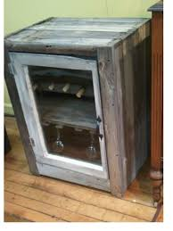 Rustic Bar Cabinet If You Live In The Country You Were Probably Rustic Chic Before