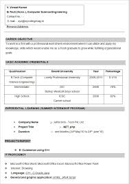 format cv cv format with picture gse bookbinder co