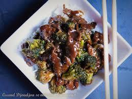 cuisine chinoise facile beef brocoli recette chinoise facile et rapide djoudjou se met