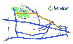 map of new city house model in lancaster new city cavite house for sale