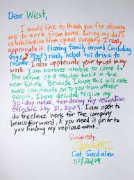 resignation letter format top best resignation letters ever