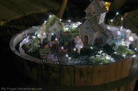 how to make fairy lights how to make a fairy garden for indoor or outdoor my frugal fairy