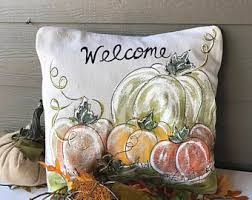Thanksgiving Pillow Covers Sipping Iced Tea By Sippingicedtea On Etsy