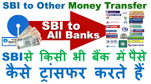how to transfer money from sbi to other bank account using the