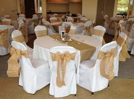 cloth chair covers dining room the unique white wedding chair covers with intended