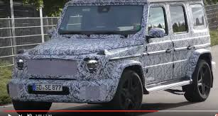 2019 mercedes amg g63 prototype reveals panamericana grille and