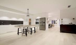 Kitchen Island With Table Attached by Cantilevered Tables Floating In Modern Luxury Homes