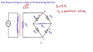 symbols lovable peak inverse voltage diode bridge rectifer to dbm rms power of a sine wave meaning og formula definition and calculation