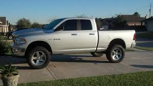 20 stock dodge ram rims photos of 4 or 6 inch lifts with stock and tires dodge ram