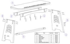 piano bench plan