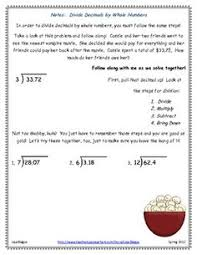 great dividing decimals matching game ideas pinterest