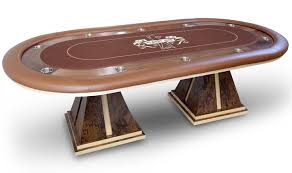 Poker Table Pedestal Custom Poker Table 3 Jpg