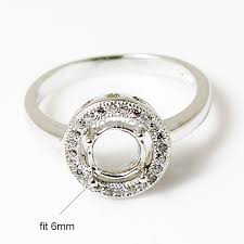ring mountings wholesale ring mountings 925 sterling silver jewelry ring findings