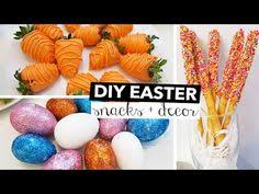 Easter Decorating Ideas Youtube by Diy Cute U0026 Easy Easter Treats Cocos Christina Youtube Easter