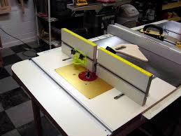 Table Saw Router Table Table Saw Wing As A Router Table