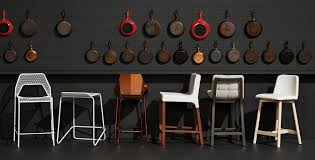 Bluedot Furniture Knicker Counter Stool Upholstered Counter Stool Blu Dot