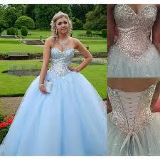 light blue formal dresses light blue prom dress ball gown prom dress princess prom gown beaded