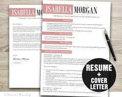 Resume Cover Letter Template Mac Creative Resume Template Resume Cover Letter Template Cv