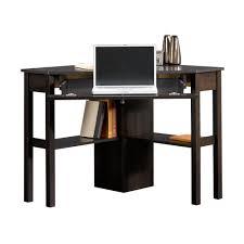 furniture chic corner wood computer desk for efficient space