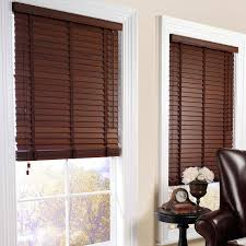 interesting brown window blinds design in elegant living room as