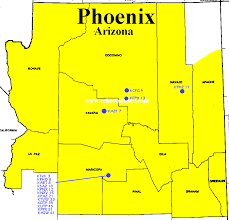 Map Of Yuma Arizona by Which Tv Market U0027s Getting Screwed Today Your Week 5 Nfl Viewing Maps