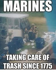 Navy Memes - marines navy memes com taking care of trash since 1775 meme on me me