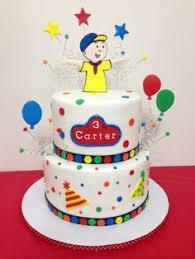 caillou birthday cake caillou cake pinteres