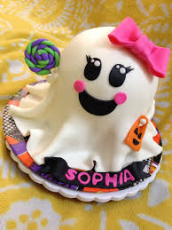 Halloween Ghost Cake by Friday Night Cake Club For 10 24 14 Cakecentral Com