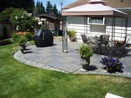 exterior innocent simple landscaping ideas for a small front