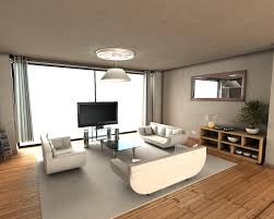 small studio apartment design white table black carpet idea yellow