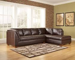 Brown Leather Sectional Sofas by Remarkable Brown Leather Sectional Sofa Clearance 66 In Circular