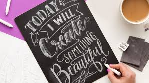 intro to chalk lettering online class brit co online classes
