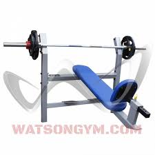 olympic incline bench watson gym equipment