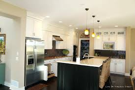 lighting above kitchen island pendant light cord shades menards lights above kitchen