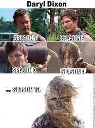Daryl Walking Dead Meme - then walking dead memes daryl chewy thewalkingdead funny