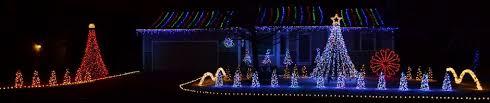 christmas lights wichita ks lights on gold street 13 000 christmas lights animated to music