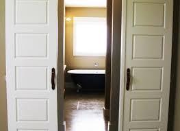 Bedroom Doors Lowes by Modern Single Closet Doors With Closet Double Door Custom Wood