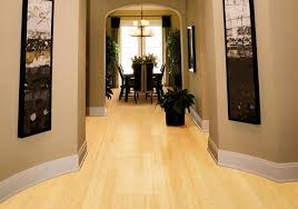 bamboo solid hardwood floor horinzontal laminated natural light