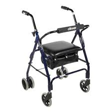 elder walker mimi lite push brake walker rollator enhancing home