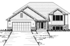 bi level house plans with attached garage split level house plans floorplans com
