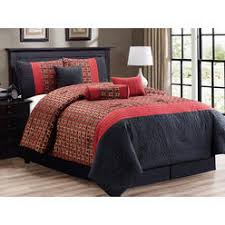 Red Gold Comforter Sets Red Gold Queen Comforter Set