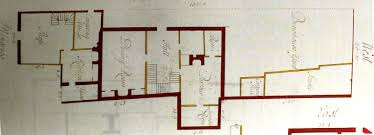 urban archaeology london plotted plans of london buildings c1450