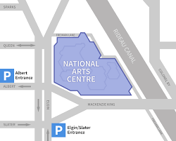 Rideau Centre Floor Plan by Parking National Arts Centre